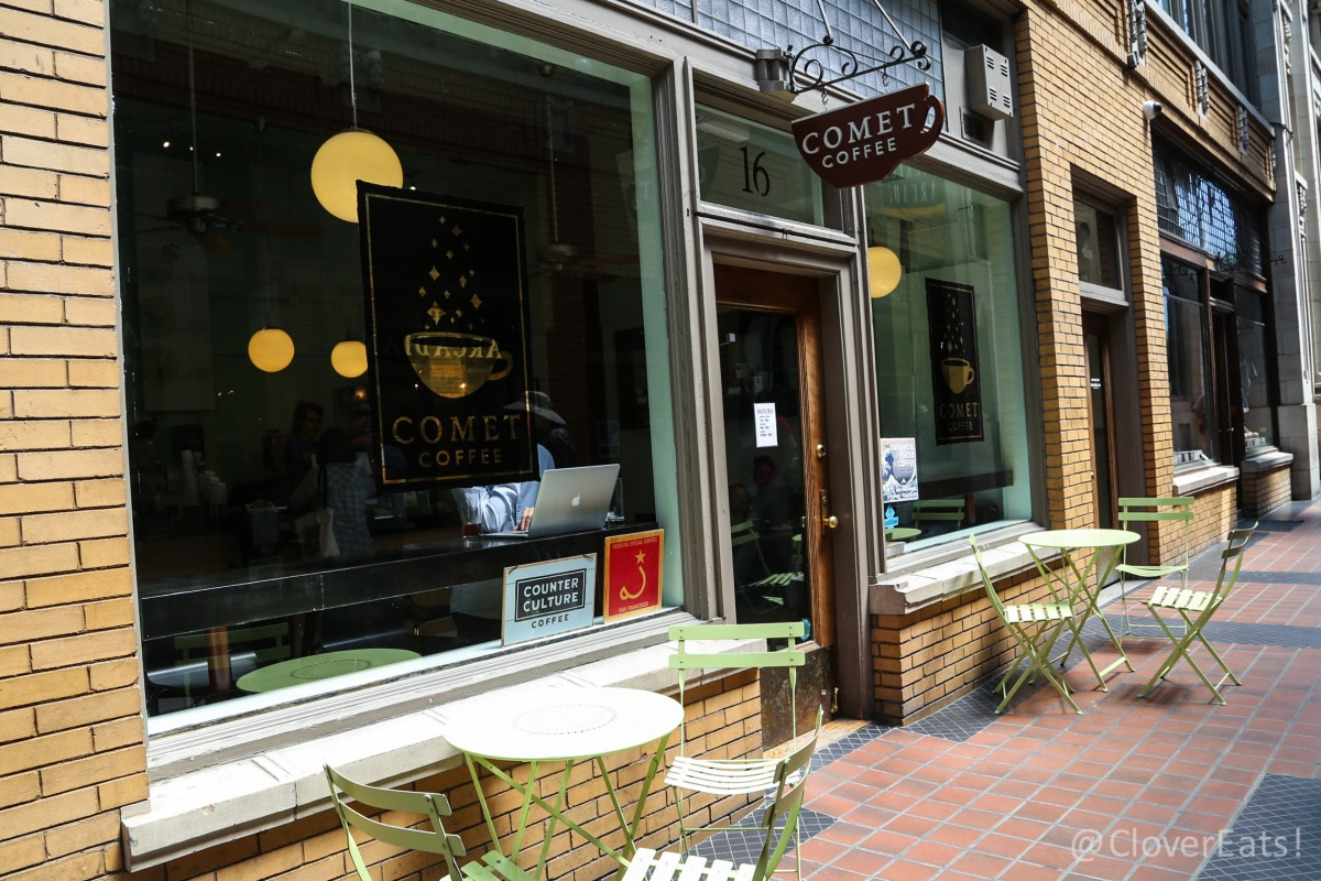 CloverDrinks: Comet Coffee in Ann Arbor