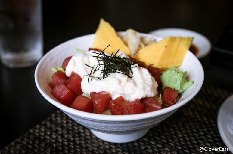 Yamakake Don – Tuna with grated yam served on a bed of rice