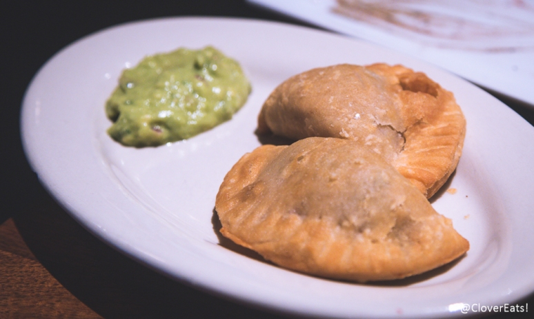Spiced Chicken Empanadas with Avocado Puree