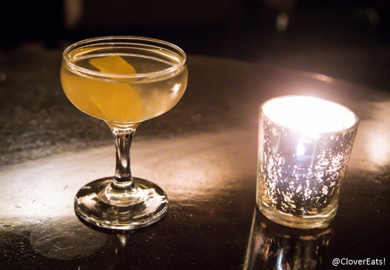 The Spice Trader: Opihr gin, Lillet Blanc, cardamom, orange peel