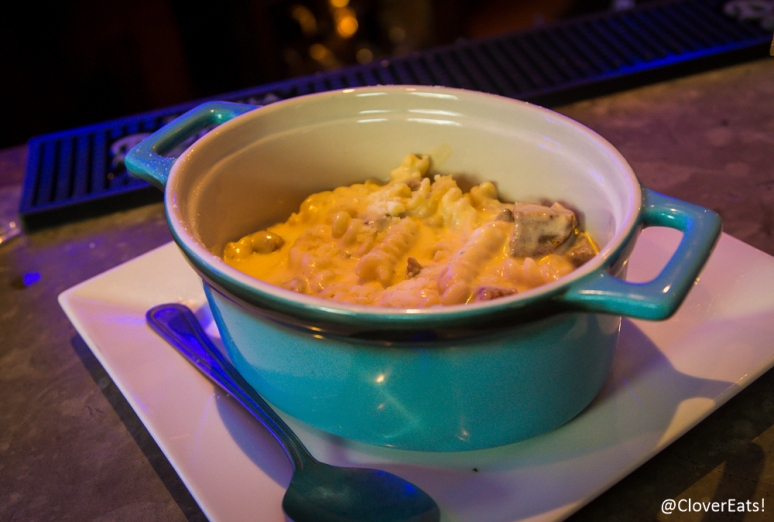$5 Happy Hour Chorizo Mac & Cheese