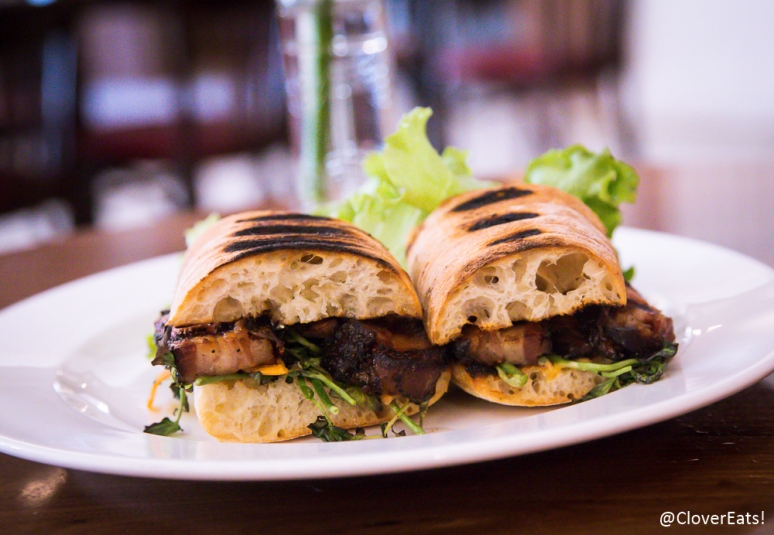 Grilled Pork Belly Sandwich........................................................................ 13 spicy aioli, pickled carrot, watercress and hand picked local lettuces