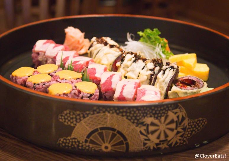 Ahi Roll - fried tuna, avocado, tobiko, tempura sauce Ruby Roll - white tuna, avocado, tuna, garlic mayo Spicy Salmon
