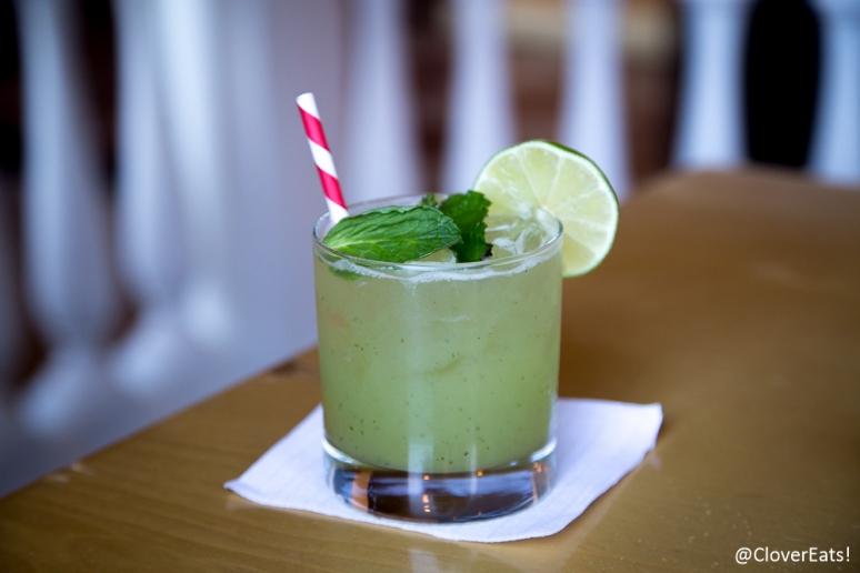 Hyderabadi Cocktail - lime, cucumber, honeydew, mint