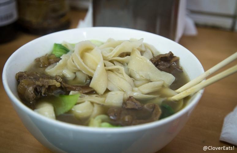 """Knife-shaven noodles, """"dao xiao mian"""""""