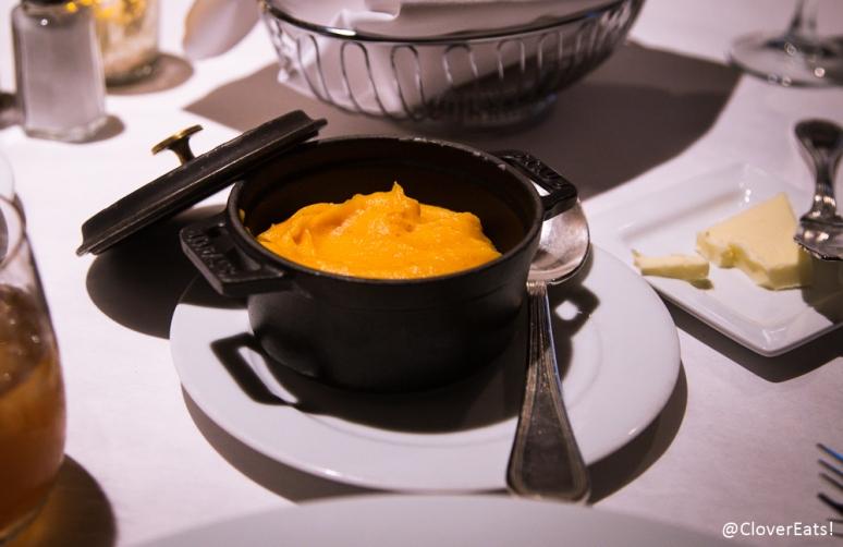 Sweet potato puree