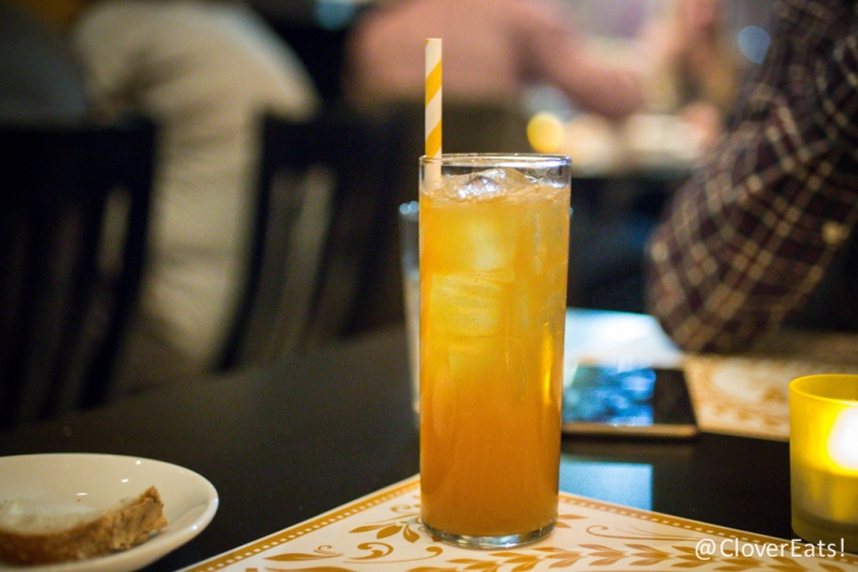 Il Cacciatore - whiskey, gingerbread syrup, apple cider