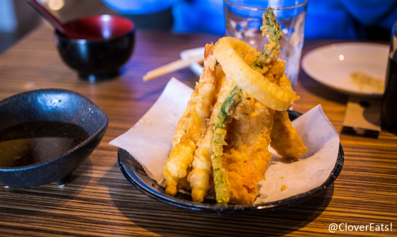Vegetable, shrimp tempura