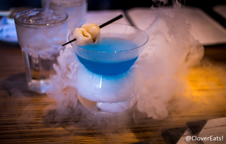 Bye Bye Baby - Vodka Lychee Elderflower - with dry ice