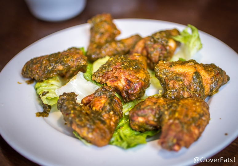 Moroccan Chicken Wings